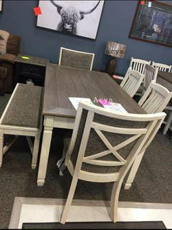 🔥Best Price Brand🆕️ Bolanburg Dining Room Set for Sale in Alexandria,  VA