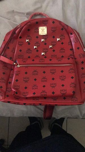 Red MCM Bag Never Used MAKE OFFERS for Sale in Phoenix, AZ