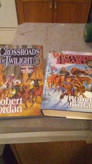 Robert Jordan books (2) for Sale in Aberdeen, WA