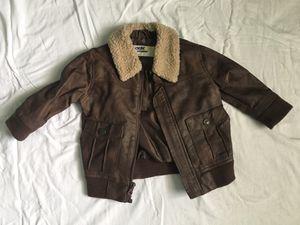 "18 months - Oshkosh ""leather"" jacket for Sale in Las Vegas, NV"
