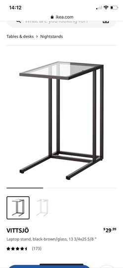 Ikea VITTSJÖ Laptop Stand / End Table / Side Table for Sale in Ridgefield,  WA