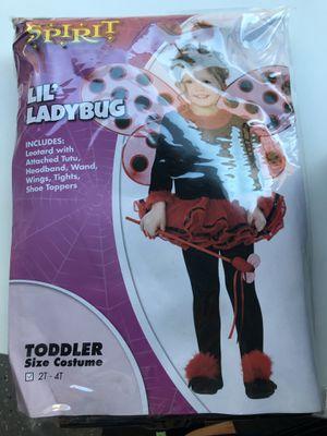 Ladybug Halloween costume 2-4T for Sale in Alafaya, FL