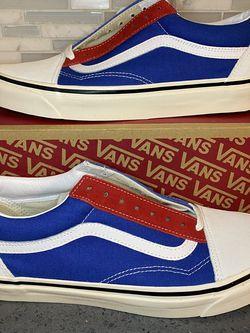 Vans Men Old Skool 36 DX, Men's Size 9.5 , $40 Firm for Sale in Buena Park,  CA