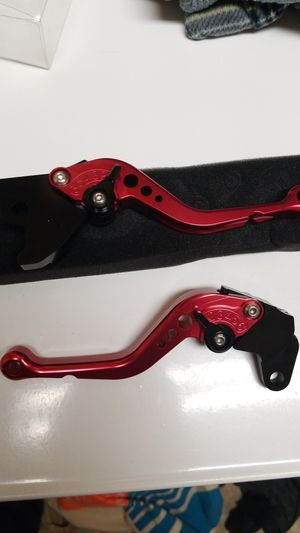 dirt bike shorty brake and clutch levers brand new for Sale in Kenmore, WA