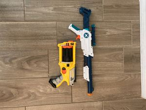 N-Strike Nerf gun and X-Shot gun with bullets for Sale in Phoenix, AZ