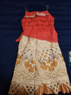 Moana Halloween costume size 7/8 for Sale in Winter Springs, FL