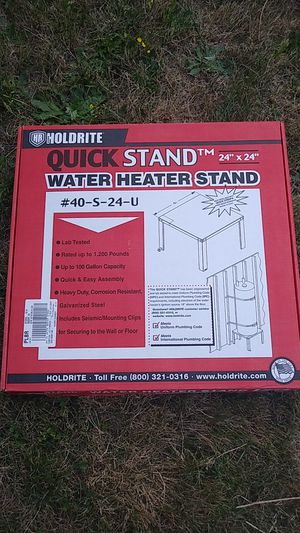 Water Heater Stand for Sale in Federal Way, WA
