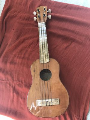 Soprano Ukulele with case, made & bought in Colombia for Sale in Silver Spring, MD
