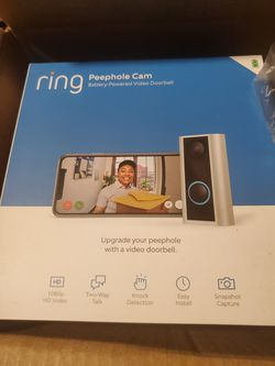 Ring peephole camera for Sale in Killeen,  TX