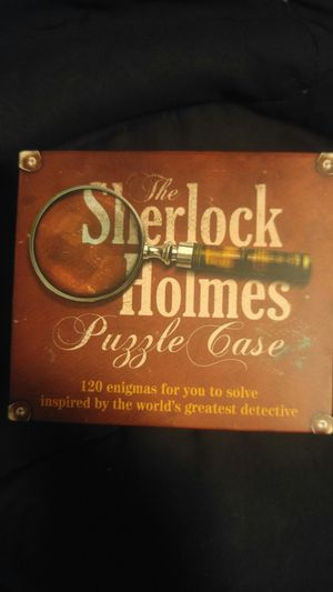 Sherlock Holmes Puzzle Case Board Game for Sale in Spring Valley, CA