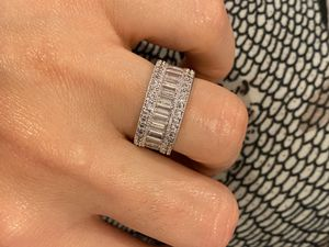 18K Gold plated Diamond Ring - Code SP003 for Sale in Houston, TX