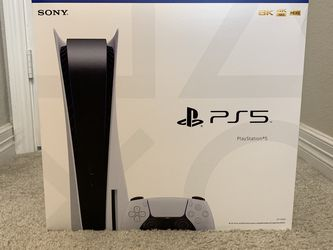 DISK Edition Sony PlayStation 5 PS5 Console Brand New Sealed from Best Buy for Sale in Katy,  TX