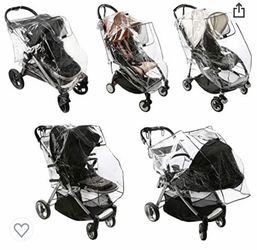 Brand new stroller rain cover, universal size for Sale in Vancouver,  WA