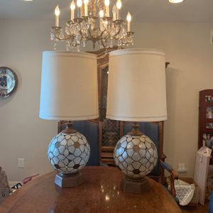 Pair of original mid century Globe lamps for Sale in Dallas, TX