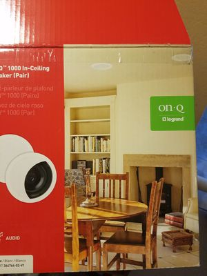 Ceiling or wall mounted speakers (set of 3) for Sale in Las Vegas, NV