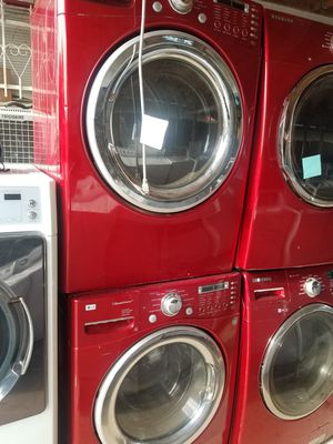 Front load big capacity washer and dryer set for Sale in Houston, TX