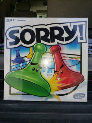 Sorry Board Game for Sale in Joshua, TX