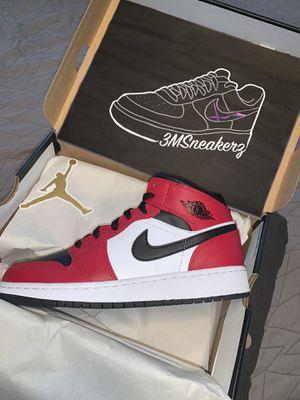 "Air Jordan 1 Mid ""Chicago Black toe"" for Sale in Minneapolis, MN"