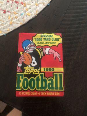 1990 Topps football u opened pack for Sale in Salisbury, NC