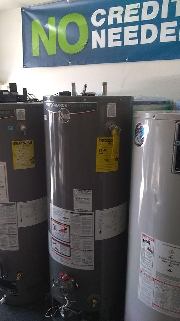 New water heater Rheem Performance Platinum Water Heater 🆕🆕