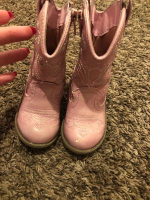 size 5 cow girl boots for Sale in Spokane, WA