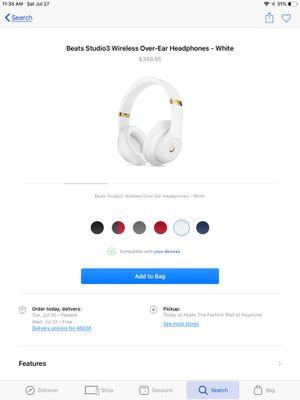 Beats Studio Wireless for Sale in Fishers, IN