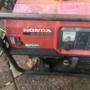 Honda Em2500 for Sale in Annapolis, MD