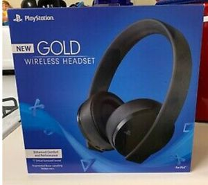 Sony PS4 PlayStation 4 Gold Edition Wireless Headset - New/Sealed in Box for Sale in North Springfield, VA