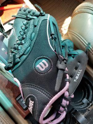 "10"" kids baseball glove Wilson broken in for Sale in Norwalk, CA"