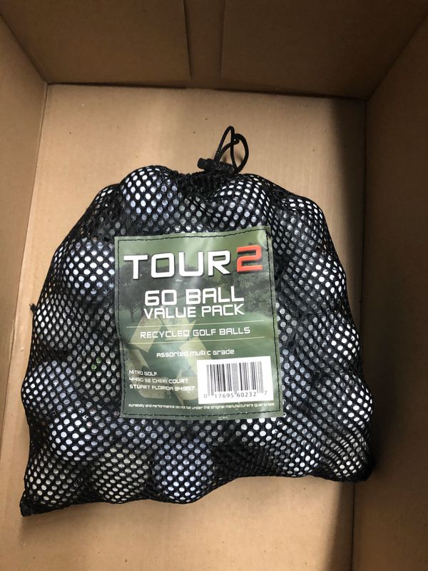 Tour 2 60 Ball Value Pack