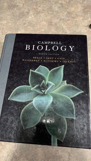Campbell biology ninth edition. for Sale in Fairland, IN