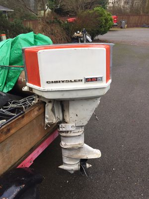 Chrysler 45 hp outboard motor for Sale in Snohomish, WA