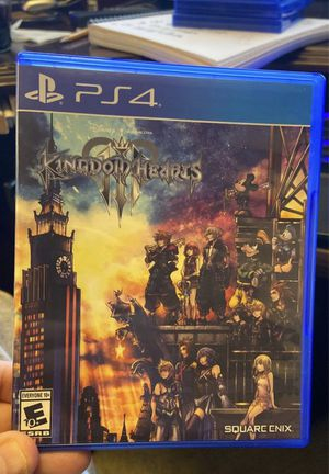 KINGDOM HEARTS III 3 (PS4 / PlayStation 4) for Sale in Los Angeles, CA