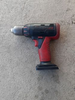 Snap-on 14.4volt  Drill driver good working condition TOOL ONLY no battery no charger/ Taladro De 14.4 Voltios trabaja bien  for Sale in Los Angeles, CA
