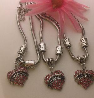 Big middle little sis. Bracelet set. for Sale in Denver, CO