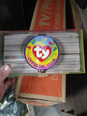 Ty beanie babies collection cards for Sale in San Diego, CA
