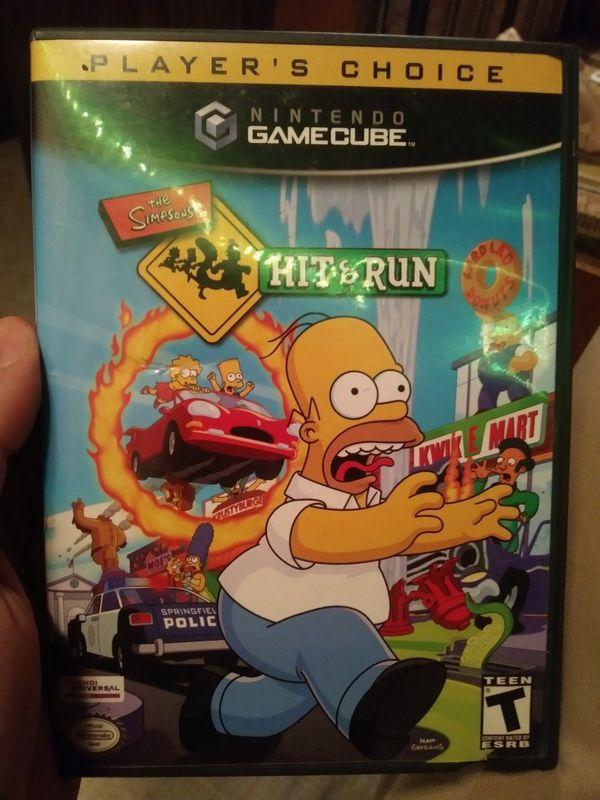 Nintendo Gamecube Simpsons Hit and Run