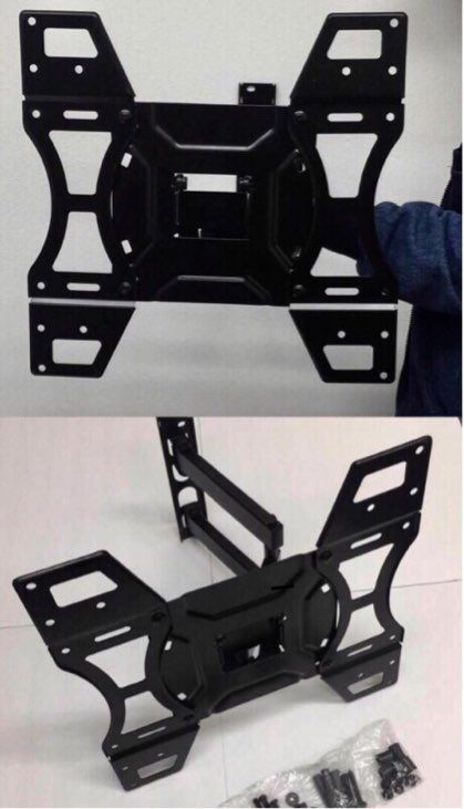 New in box universal 32 to 50 inches swivel tilt full motion tv television wall mount bracket 88 lbs capacity