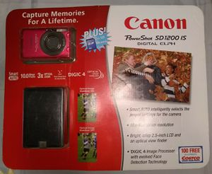 Canon PowerShot SD1200 IS 10MP Digital Camera for Sale in Los Angeles, CA