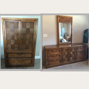 Coordinating Armoire and Dresser Set for Sale in Morgantown, WV