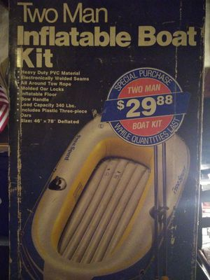 Two man inflatable boat for Sale in Philadelphia, PA