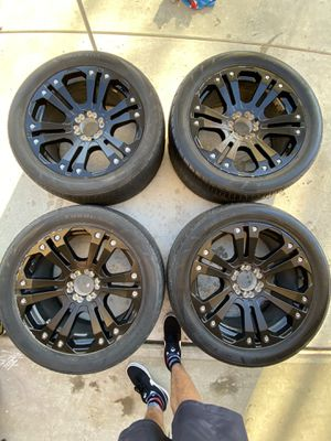 XD Monster wheels for Sale in Riverbank, CA
