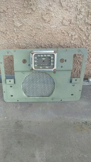 1939 Chevy dash part radio face for Sale in Industry, CA
