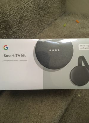 Google home mini and chromecast for Sale in Indianapolis, IN