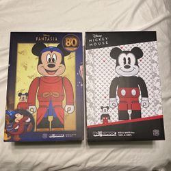 Bear bricks Limited Editions Mickey Mouses 400&100 for Sale in Vallejo,  CA