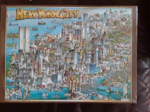 New York City puzzle, unopened, with twin towers for Sale in La Mesa, CA