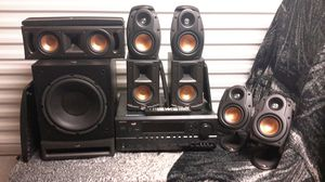 7.1 Klipsch surround w/Onkyo Receiver for Sale in Scottsdale, AZ