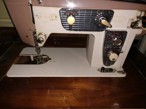 ADLER / BELVEDERE SEWING MACHINE IN CABINET for Sale in La Conner, WA