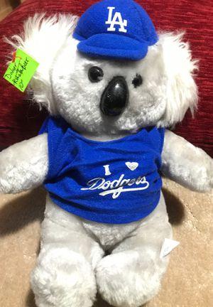 "10"" Dodger koala bear stuffed animal$7.00 for Sale in Menifee, CA"