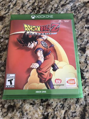 Dragon Ball Z Kakarot Xbox One for Sale in Apex, NC